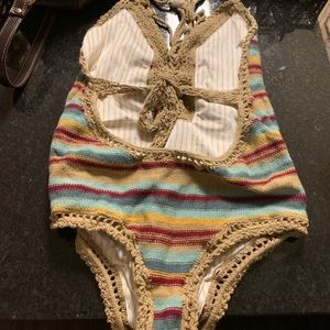 Crotched swimsuit sexyaf. Added original price